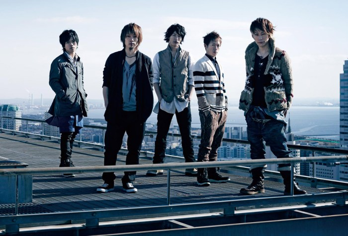What's coolet than a bunch of dudes on a roof? UVERworld on a freakin' roof!