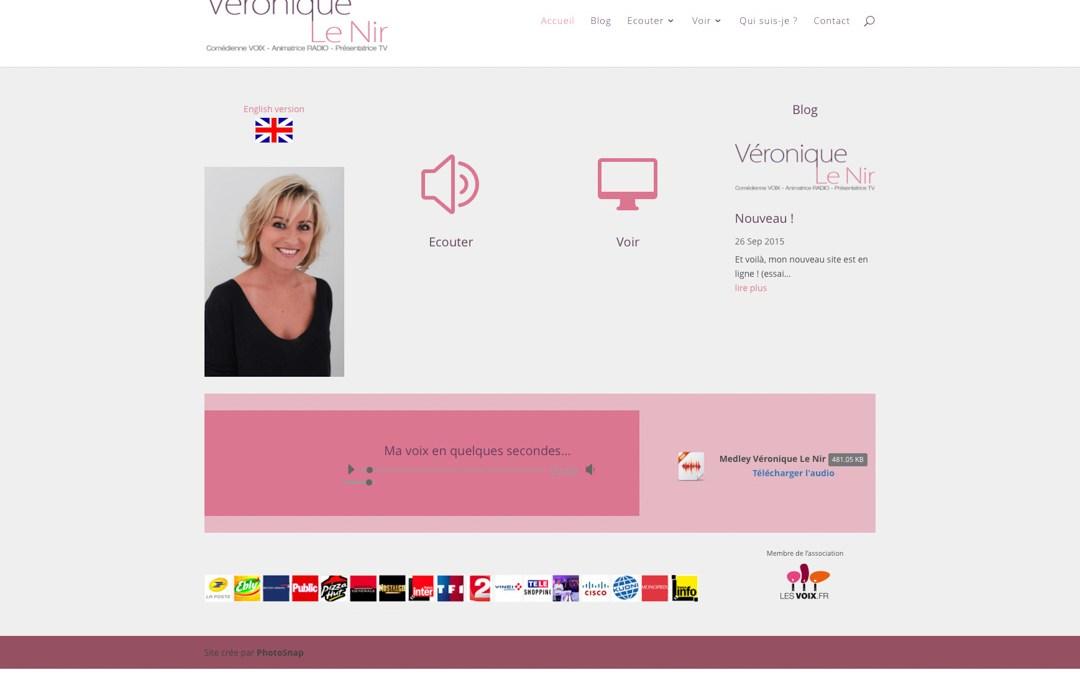 La comédienne Véronique Le Nir a un nouveau site Internet !