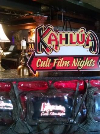 Kahlua Cult Film Night