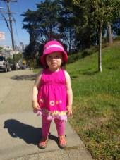 outside_pink_dress_hat