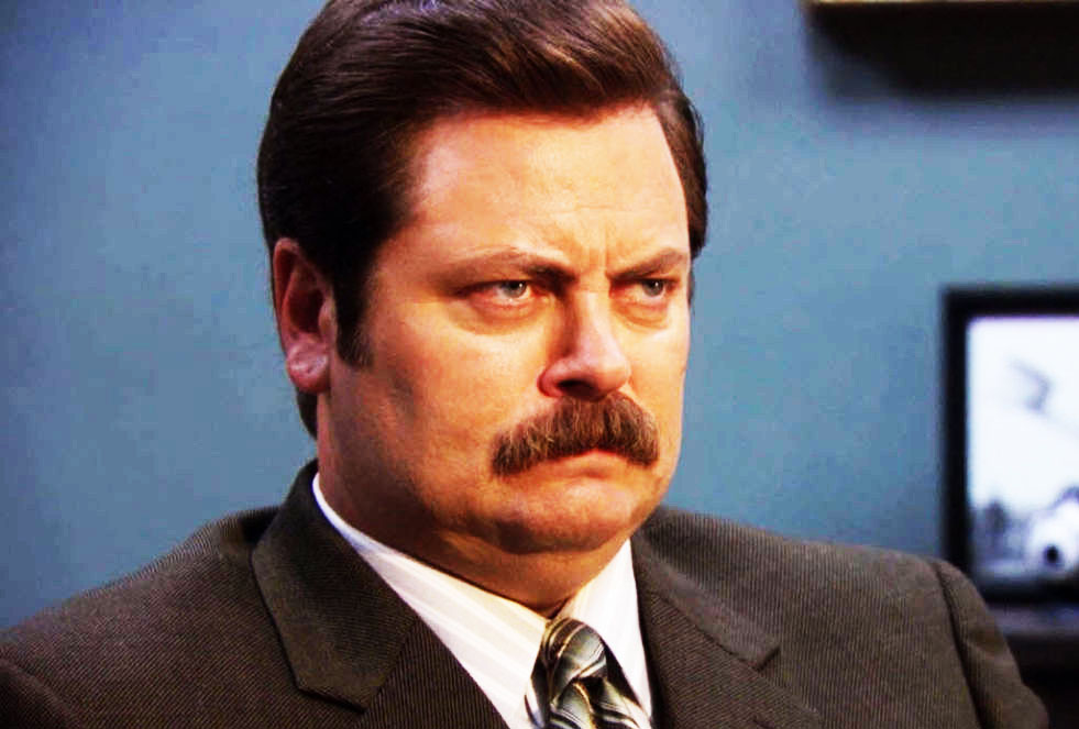 5 Scenes That Prove Ron Swanson Is A Genius Snarky Yet Satisfying