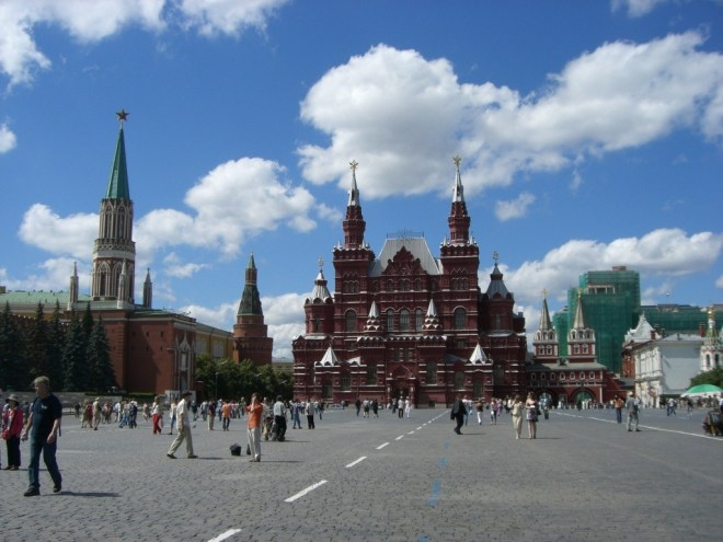 State Historical Museum, Red Square, Moscow.