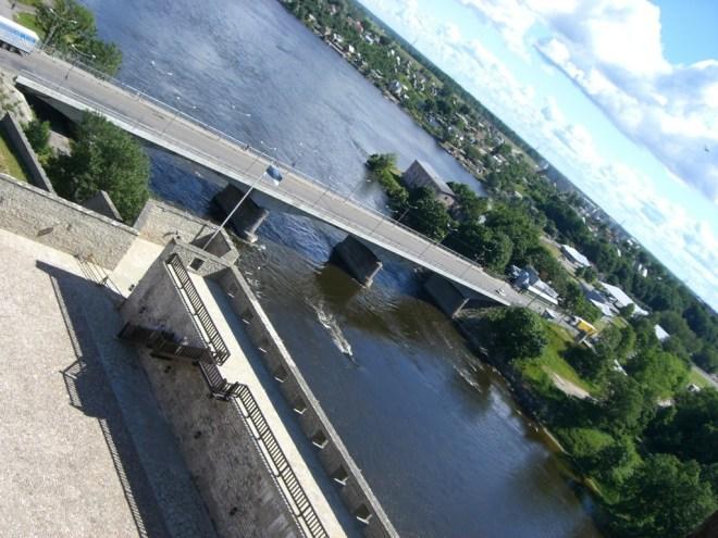 Narva/Ivangorod border