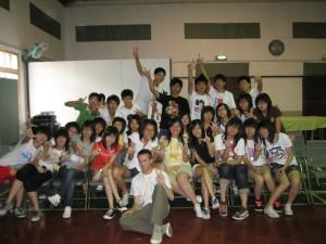 Teaching English in Taiwan.