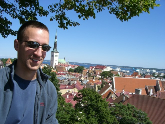 Me in Tallinn, Estonia