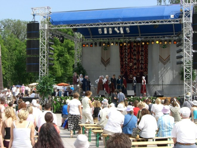 Folk festival in Lithuania
