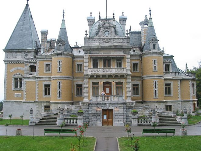 Massandra Palace, Crimea, Ukraine