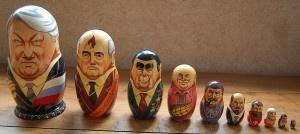 Soviet leader matryoshka nesting doll set