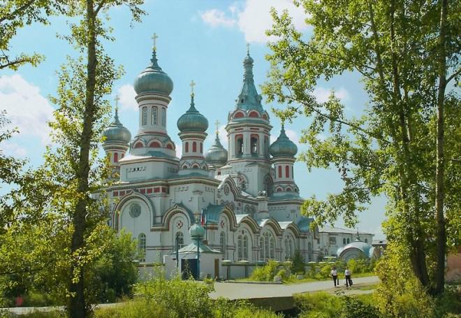 Prince Vladimir Church, Irkutsk, Russia
