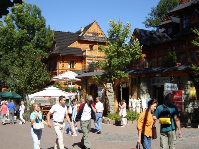 Zakopane center, Poland