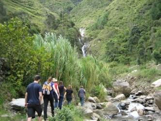 Mountains in Baños, Ecuador