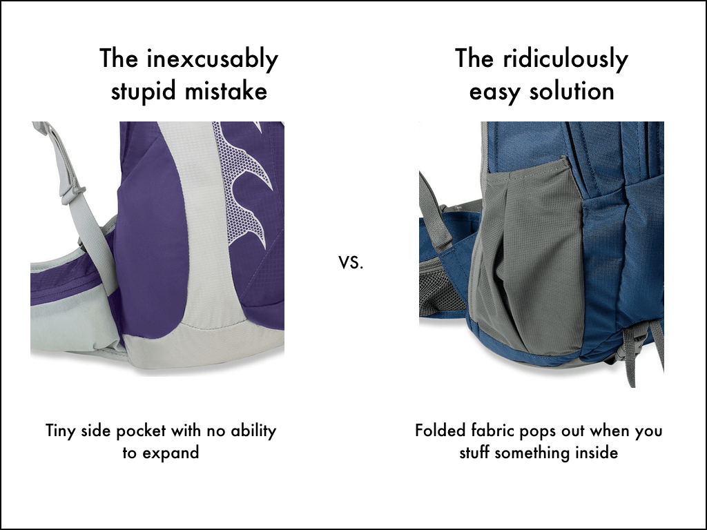 5 dumb things backpack designers need to stop doing – Snarky Nomad