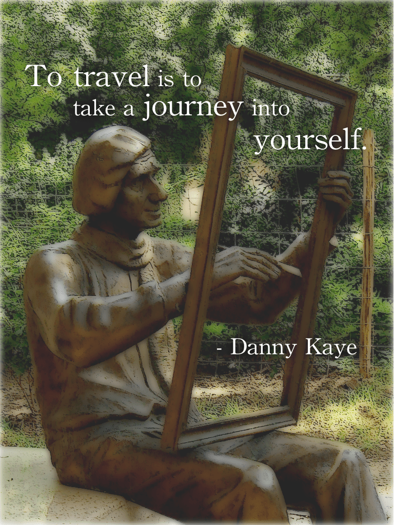 Don t travel read only one page st augustine rovinj croatia - To Travel Is To Take A Journey Into Yourself Danny Kaye Sculpture In Bulgaria