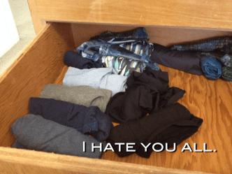 Travel underwear collection