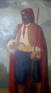Croatian mercenary with a cravat