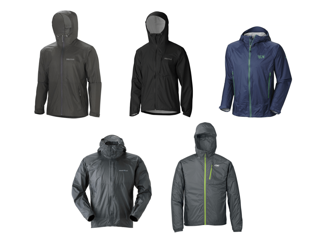 5 of the best lightweight packable rain jackets