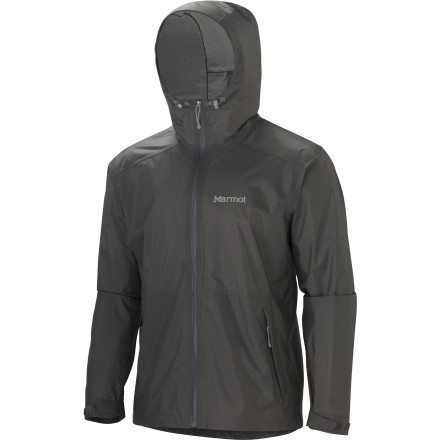 Lightweight Waterproof Jacket With Hood