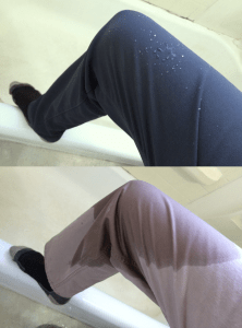 Soft shell pant water resistance vs cotton