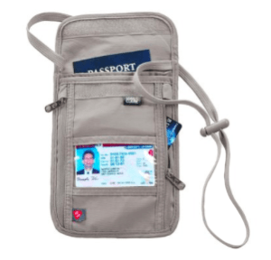 Lewis and Clark RFID Neck Pouch