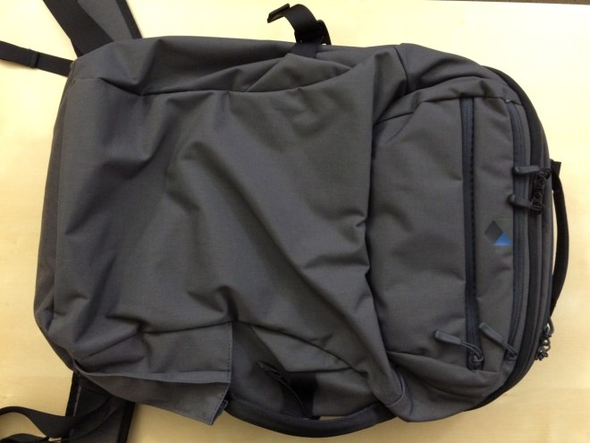 Minaal backpack front view