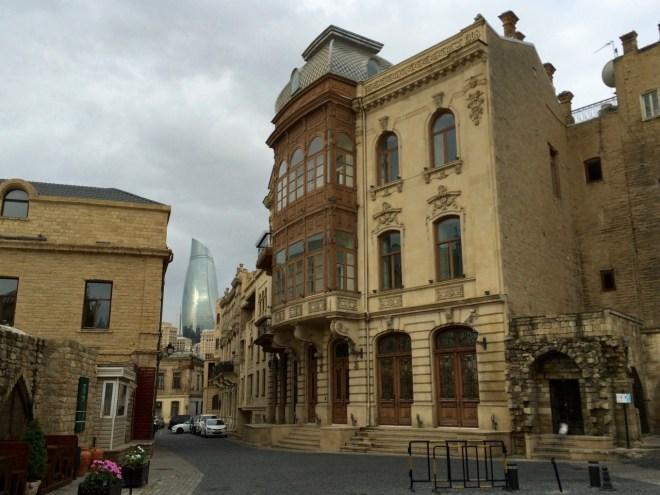 Baku old town building