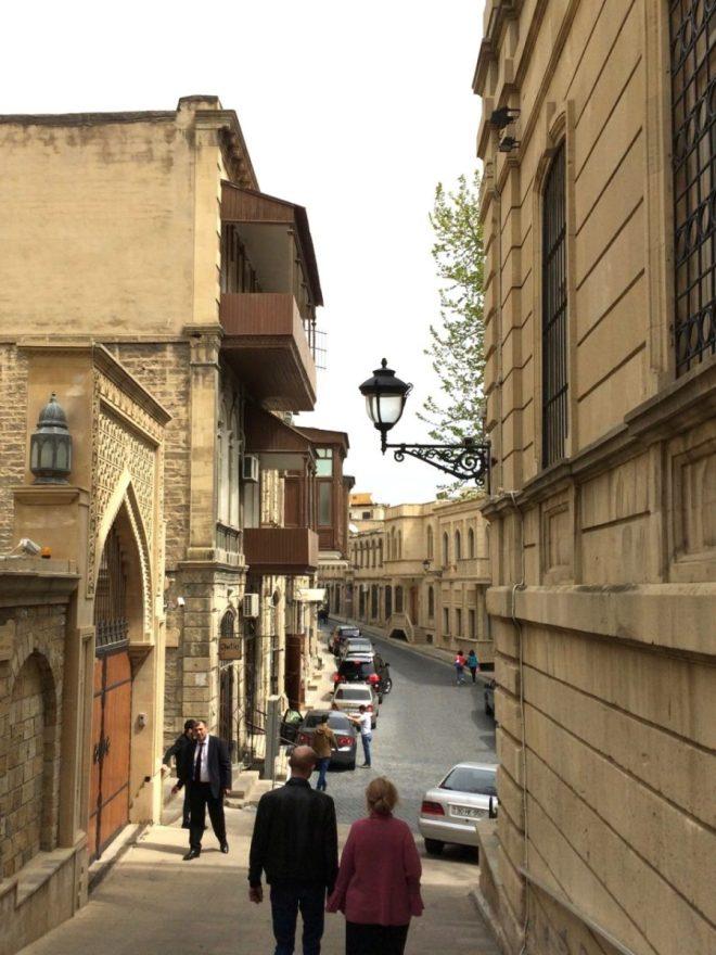 Baku old town street