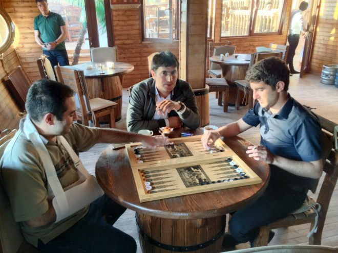 Backgammon in Nakhchivan