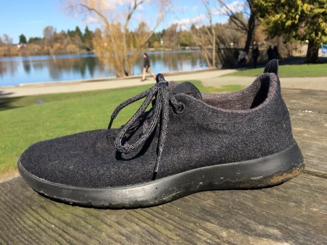 Allbirds side view