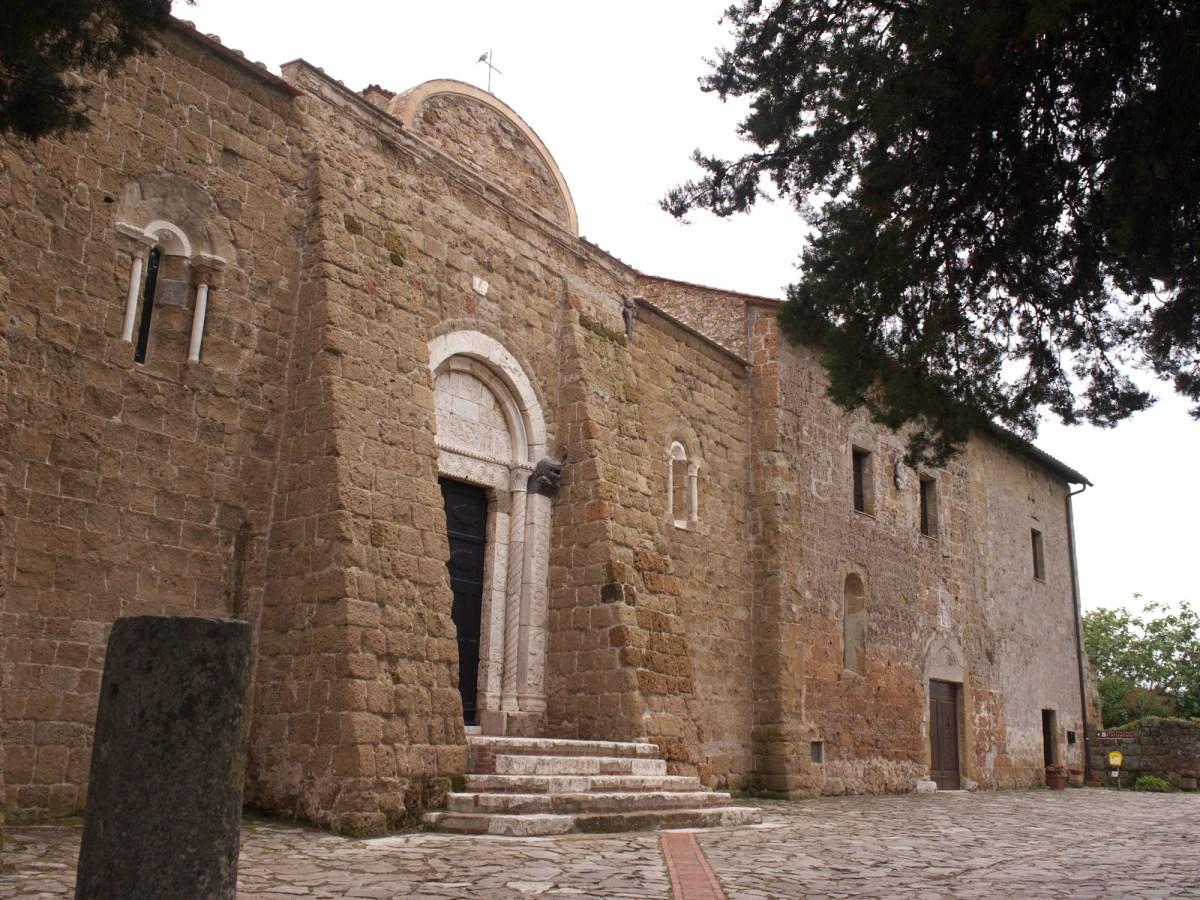 Sovana tuff church