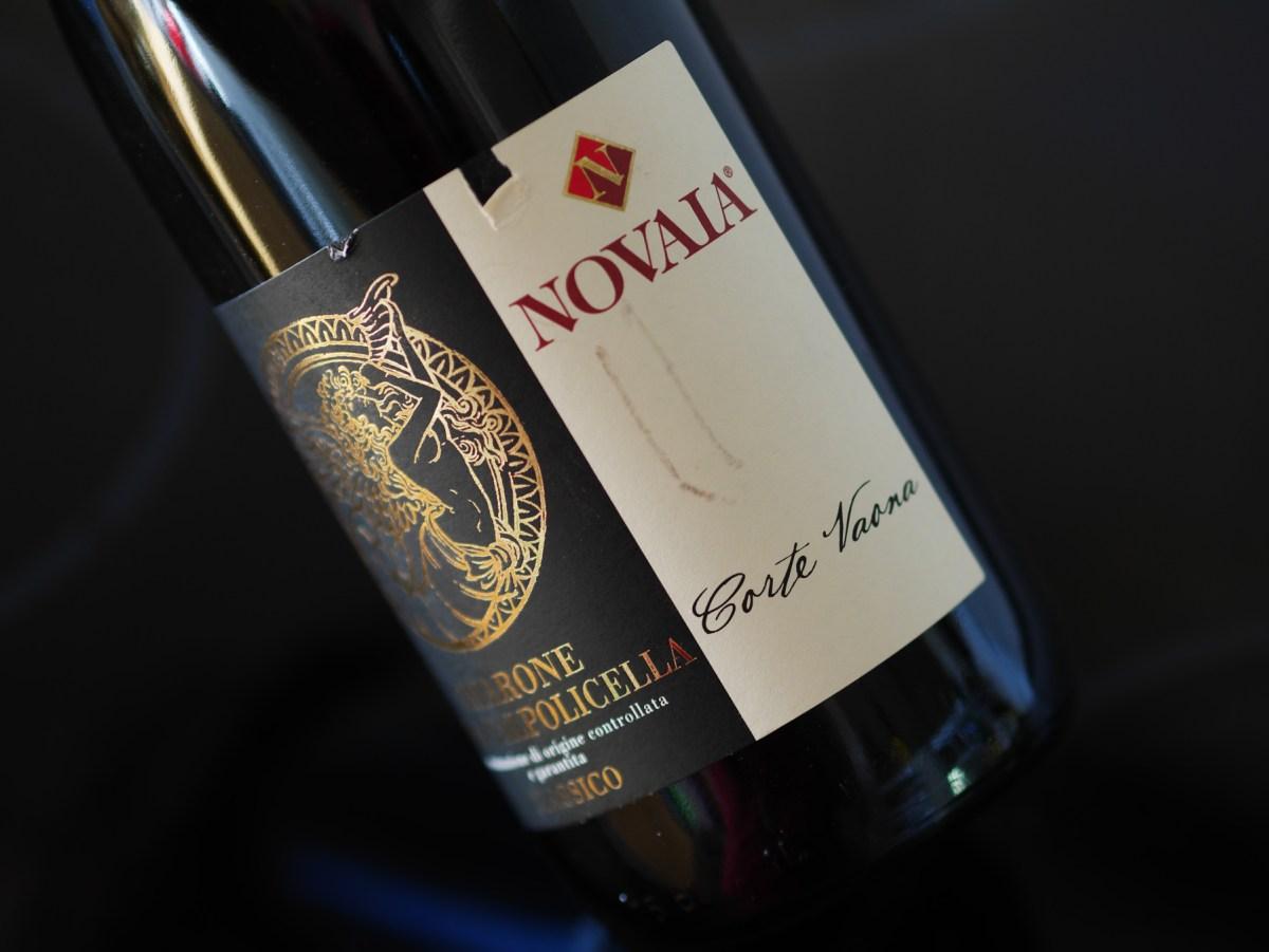 """A bottle of Novaia's """"Corte Vaona"""" Amarone Classico"""