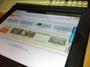 TFYP on an iPad