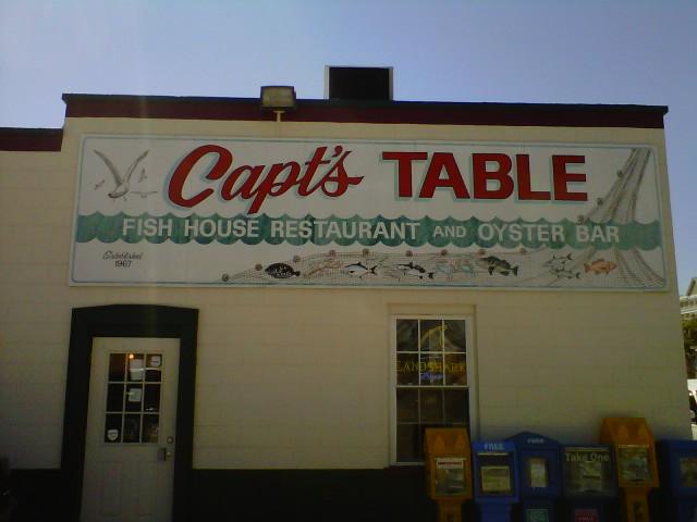 Captains Table Fish House Restaurant & Oyster Bar!  (2/6)