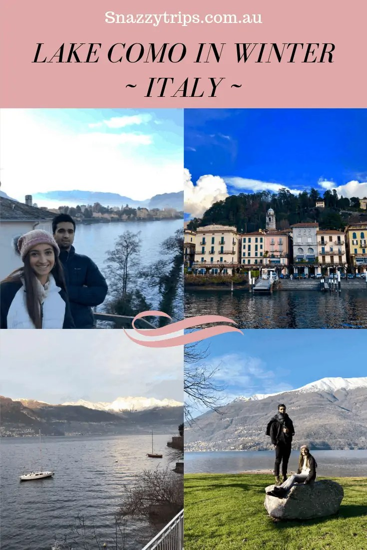 Lake Como Italy in Winter Snazzy Trips