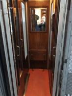 Tiny old lift