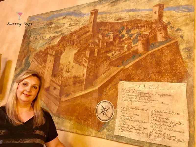 Vigoleno Castle Italy