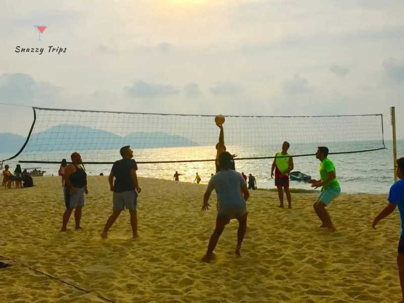 penang beach volleyball Snazzy Trips