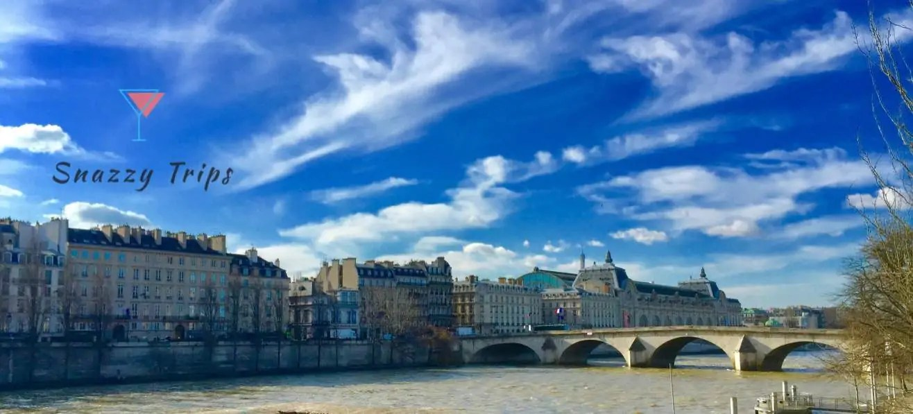 You can't miss the River Seine in Paris