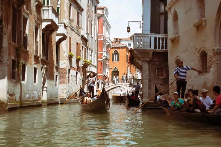 venice and the gondola