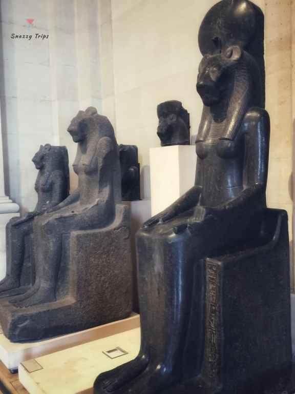 Statues of Egyptian Goddess Sekhmet