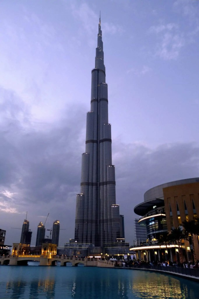 world's tallest tower in uae