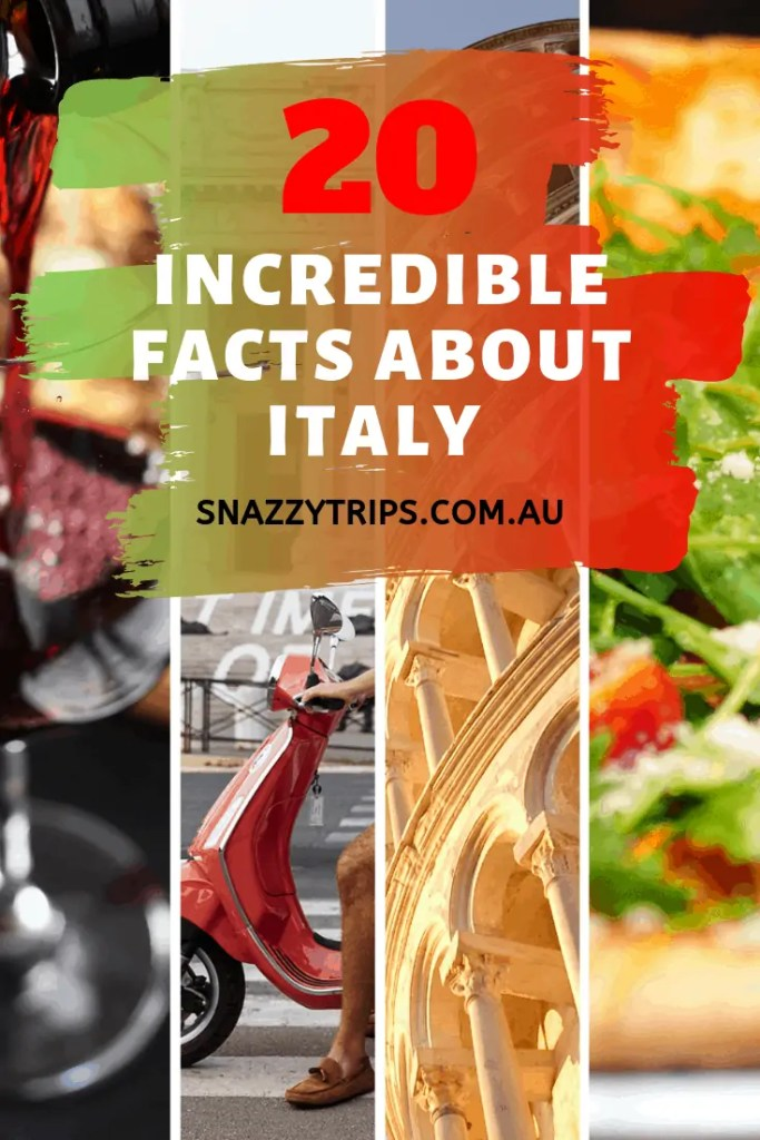 Incredible facts about Italy you should know.
