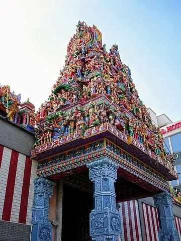 indian temple singapore Snazzy Trips