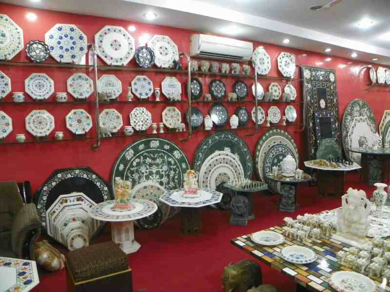 Taj gang marble shop