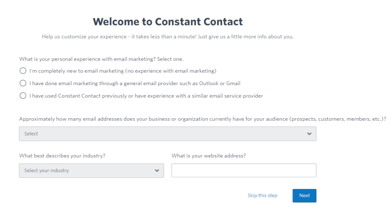 Email Automation Constant Contact