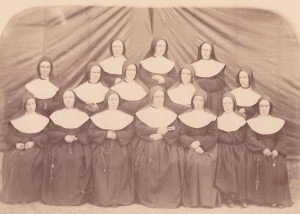 6th Street sisters group early picture Sr Desiree