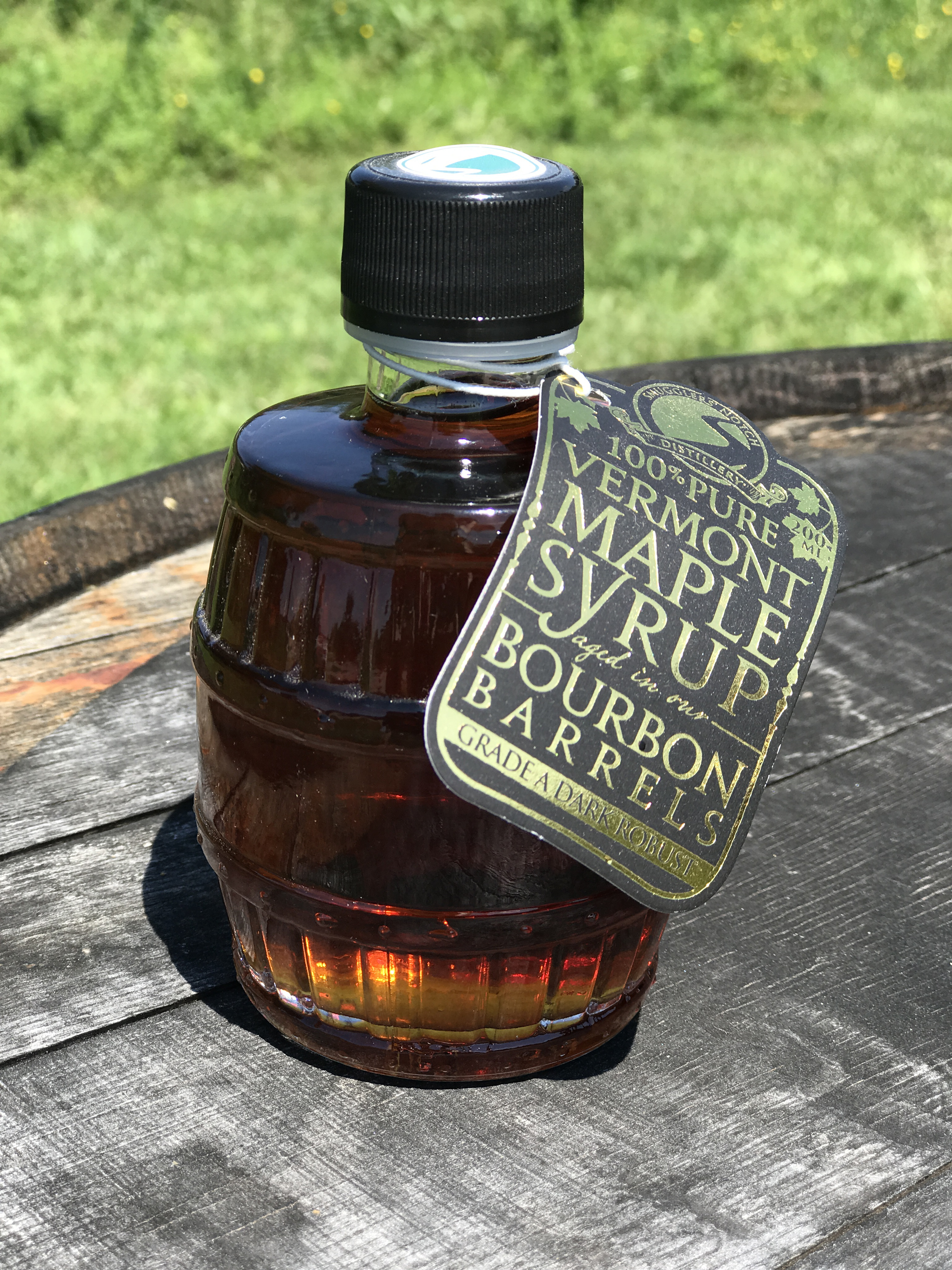 Bourbon Barrel Aged Maple Syrup 200 mL