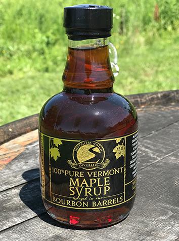 Bourbon Barrel Aged Maple Syrup 250 mL