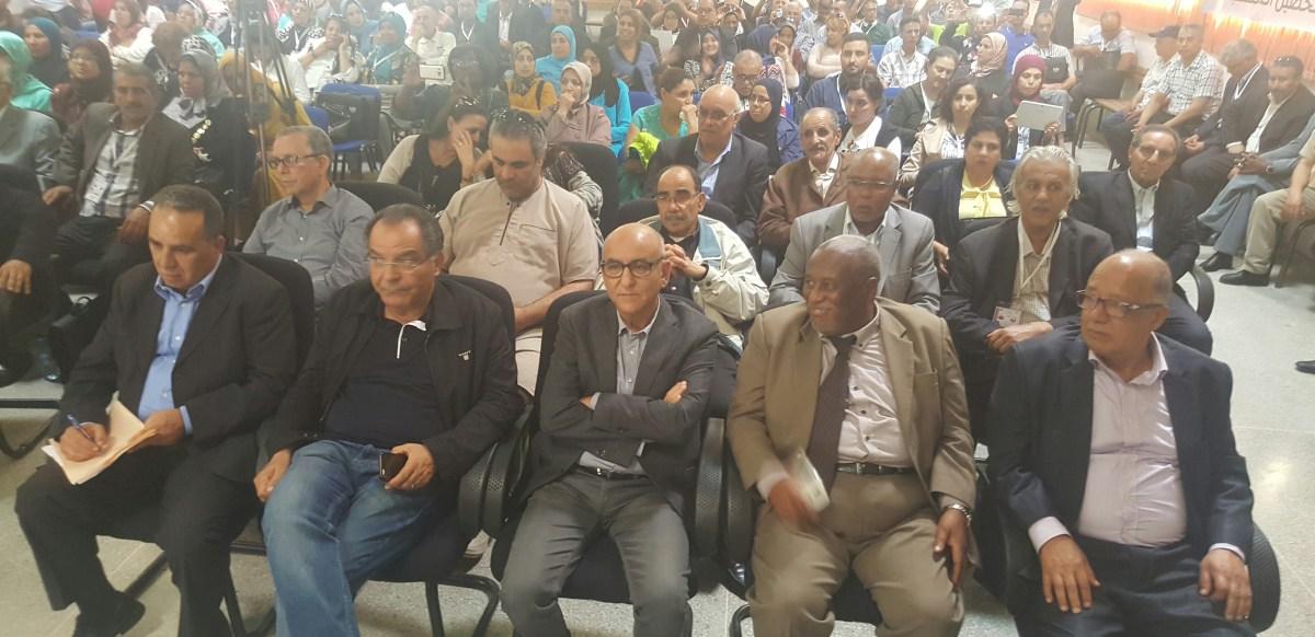 في الجلسة الافتتاحية للمؤتمر الجهوي الأول لجهة الدار البيضاء سطات: تأكيد السير على نهج السلف، والعزم على مواصلة البناء التنظيمي ومواكبة المستجدات وتحدي الإكراهات والصعوبات