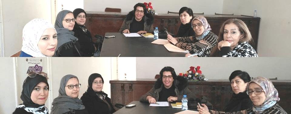 دائرة المرأة للنقابة الوطنية للتعليم (ف.د.ش) لتطوان تسطر برنامجها السنوي 2018 – 2019