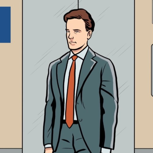 How to survive in a free falling elevator
